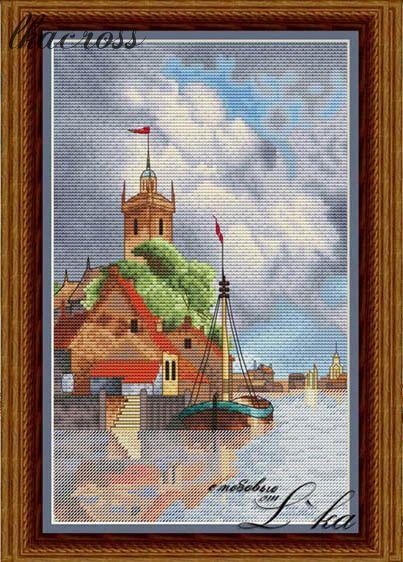 Схема вышивки Голландская гавань